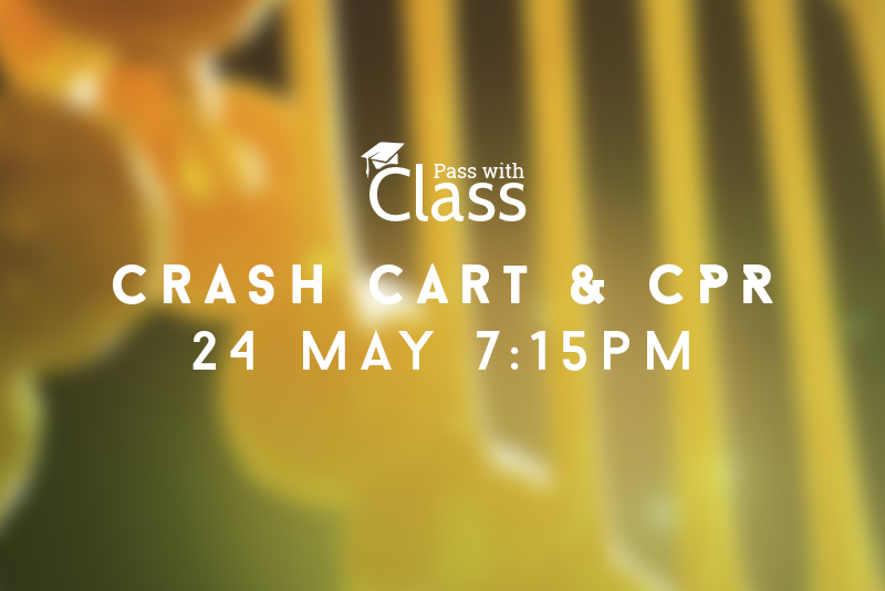 Course Image 24th May, 7:15pm: Preparing the crash cart & performing CPR