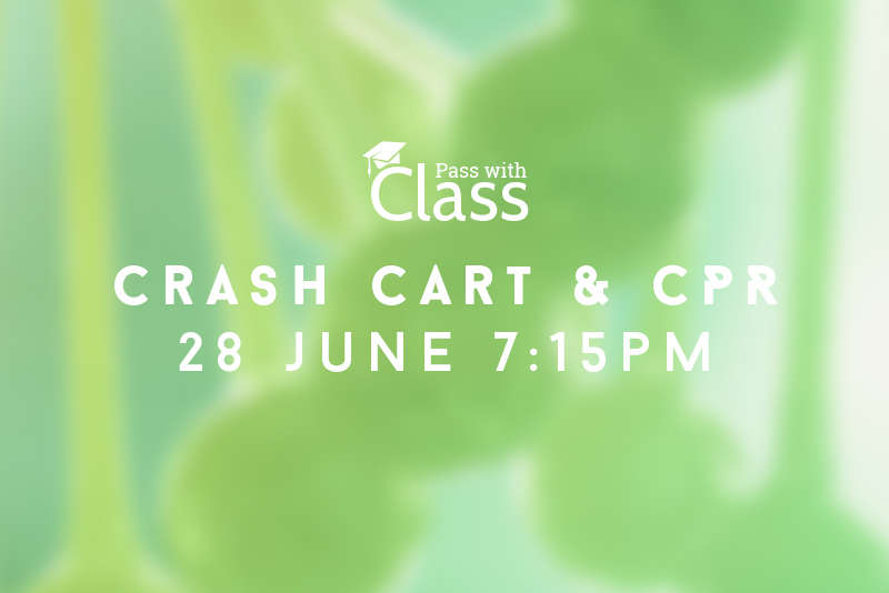 Course Image 28th June, 7:15pm: Preparing the crash cart & performing CPR