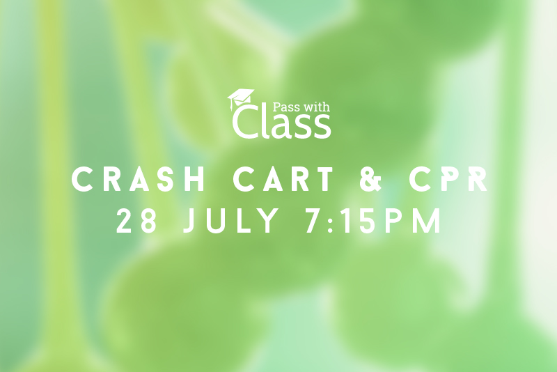 Course Image 28th July, 7:15pm: Preparing the crash cart & performing CPR